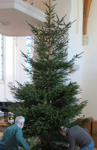 Kerstboom en advent 2017